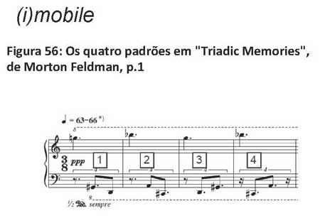 Feldman Patterns - Triadic Memories