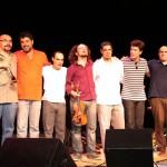 Moisés Alves, Edu Neves, Fábio Torres, Ricardo Herz, André Vasconcellos, Edu Ribeiro e Julio Herrlein - Oficina de Curitiba, Concerto do Professores, 2010