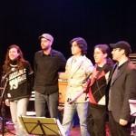 Turnê de Gustavo Assis-Brasil ,SESC, Show com Gustavo Assis-Brasil, Matheus Nicolaiewsky, Bruno Tessele, Frank Solari e Julio Herrlein, 2011