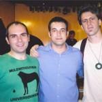 Julio Herrlein, Thiago Trajano e Henrique Band - Prêmio IBEU, 2006