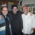 Show do Kiko Freitas Trio -  Kiko Freitas e Ricardo Baumgarten, no Abbey Road, 2005
