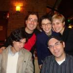 Gustavo Assis-Brasil, Luciana Etchegaray, Cristiane Soares e Matheus Nicolaiewsky, 2011